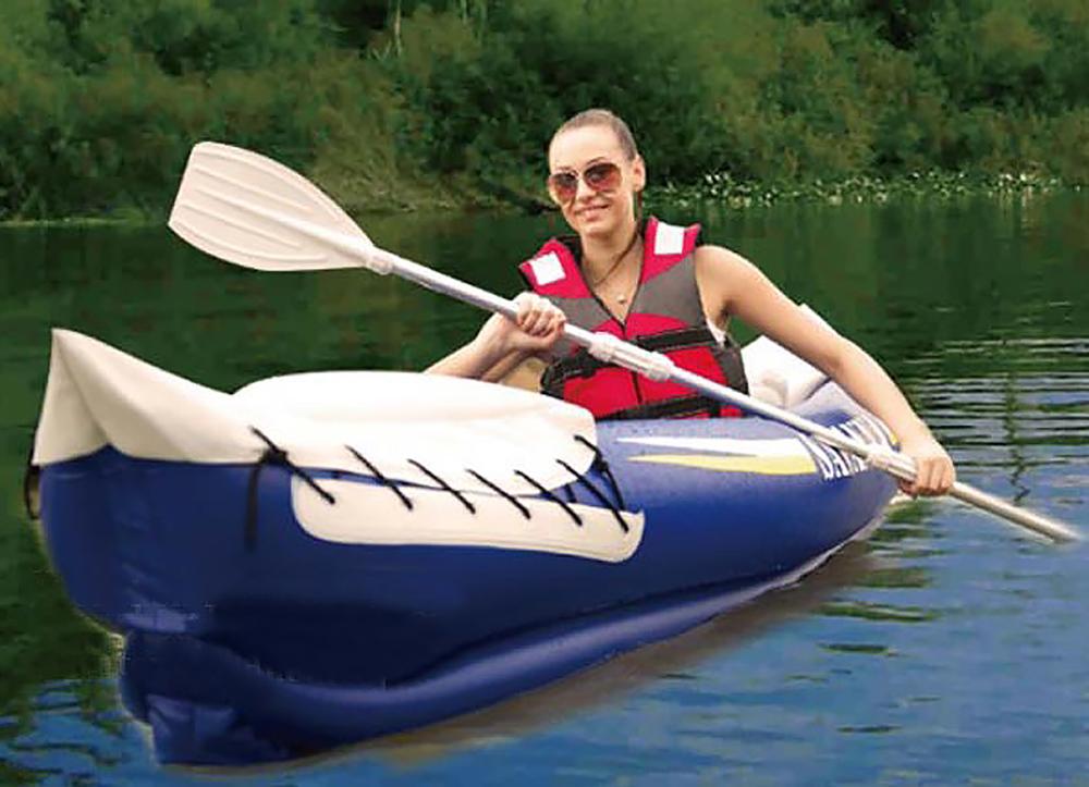 надувные лодки и каяки для рыбалки