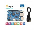 Микрокомпьютер Orange Pi PC2, H5, 64bit, 1Gb, LAN (миникомпьютер, RDP, GPIO) с кабелем питания